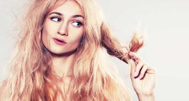 cabelos loiros ressecados- escova progressiva