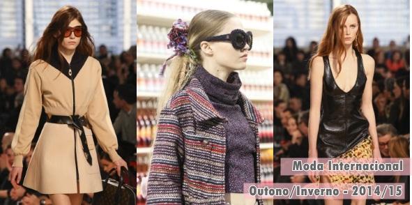 Tendências da moda internacional para o inverno 2014/15