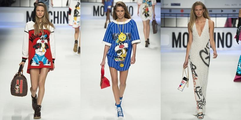 Moschino na Semana de Moda de Milão Outono Inverno 2015-16