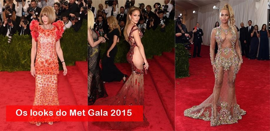 Os looks das celebridades no Met Ball 2015