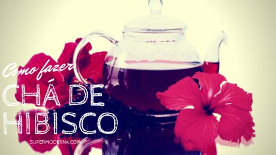 Chá de Hibisco para emagercer