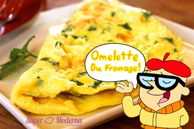 Omelette du fromage: receita de omelete de queijo