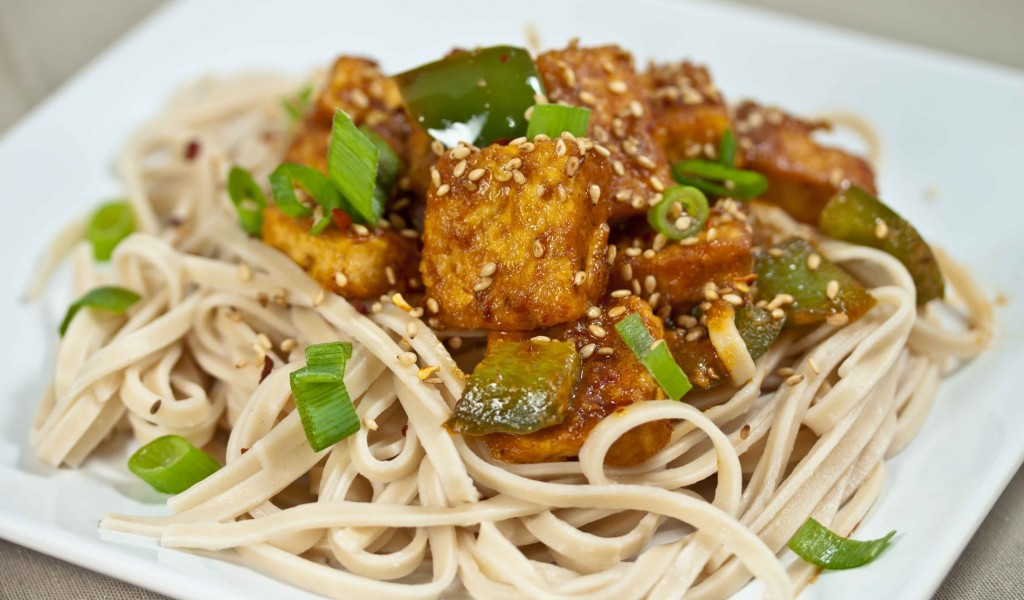macarronada com tofu- culinaria vegana- super moderna