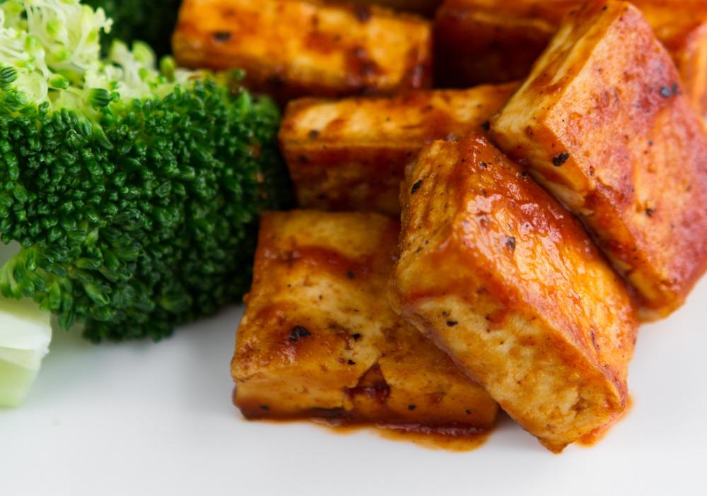 tofu com brocolis