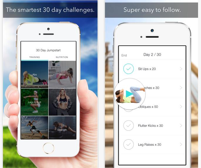 apps para malhar- sweat 30 days fitness