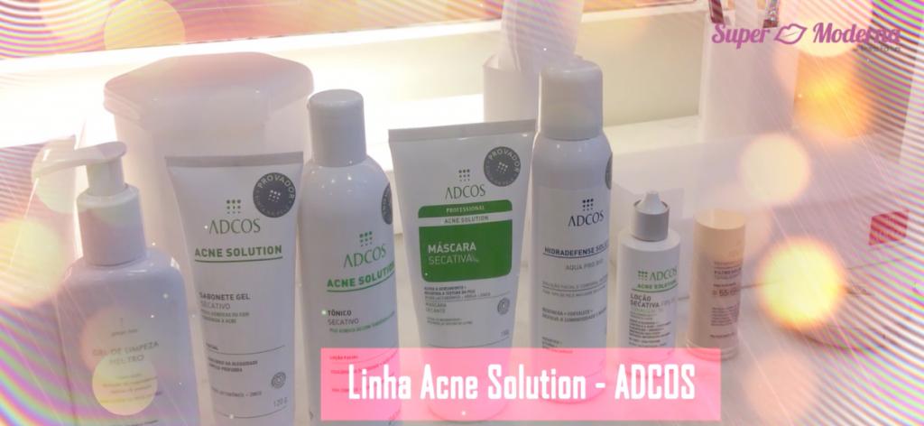 linha acne solution adcos