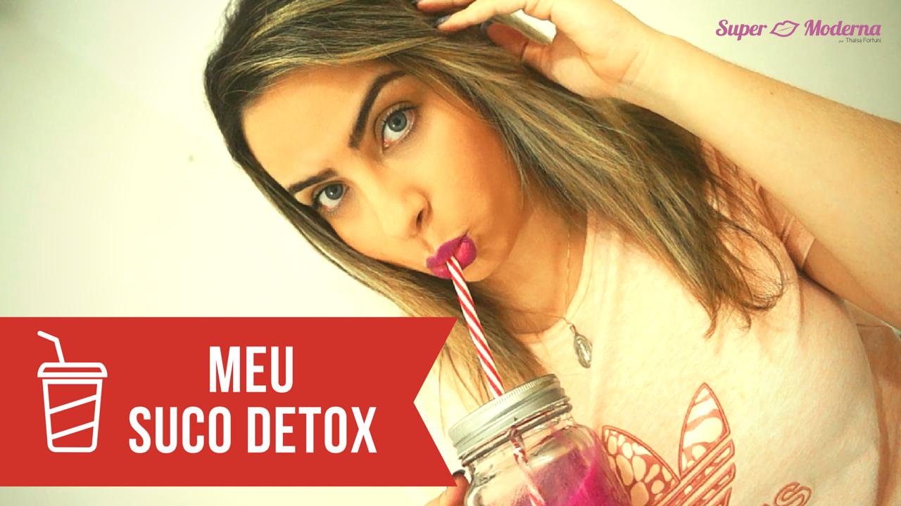 Suco detox de beterraba,cenoura e laranja #Receita
