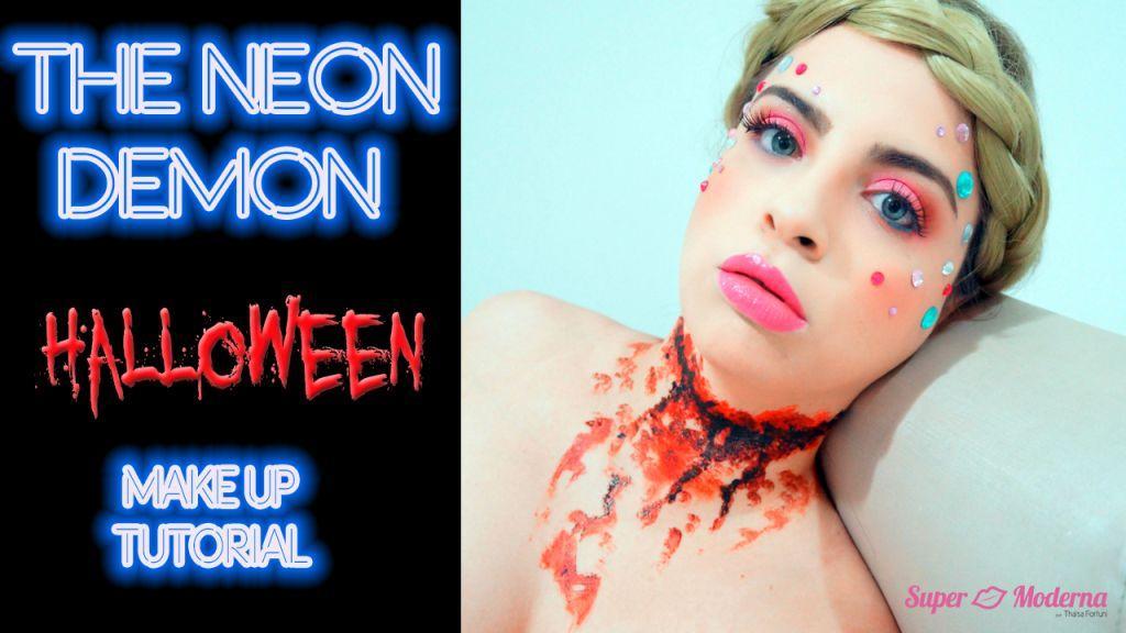 Halloween Makeup: The Neon Demon