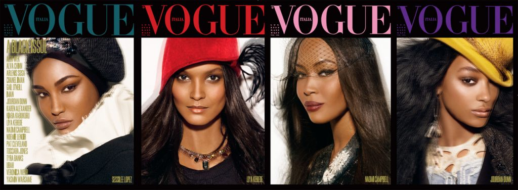vogue italia - black issue
