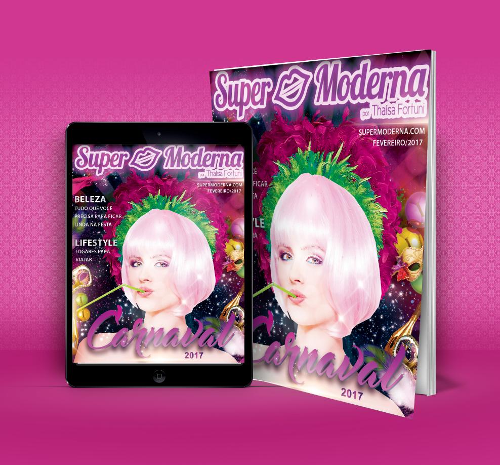 Revista Super Moderna | Edição Carnaval | Fevereiro 2017