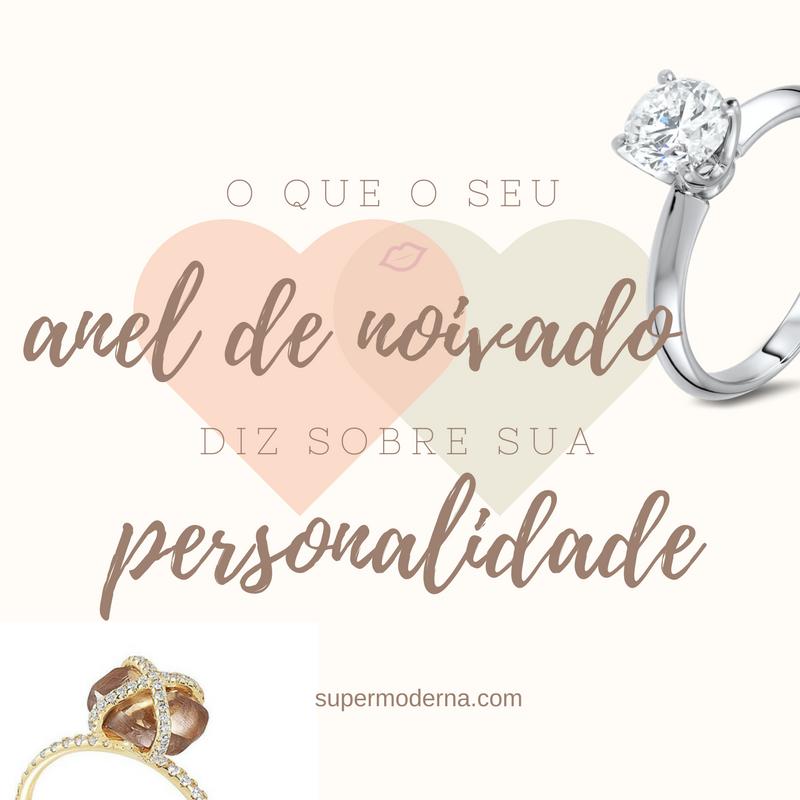 O que seu anel de noivado diz sobre sua personalidade