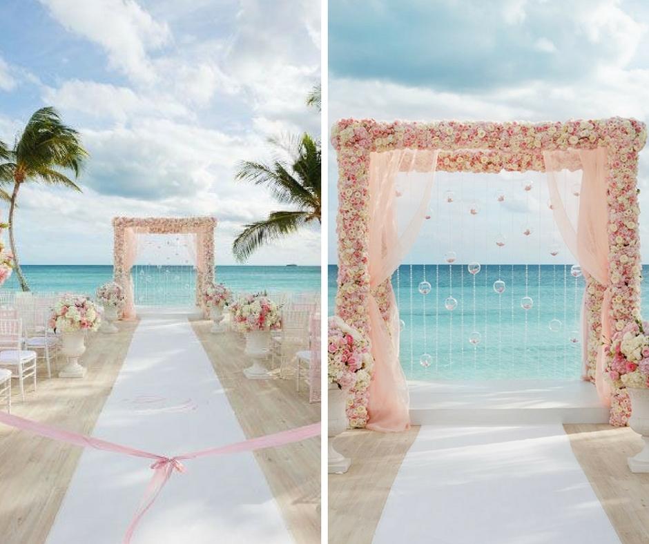 locais para casamento na praia