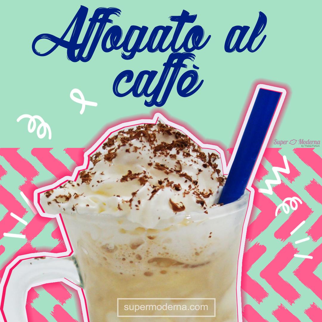 Como fazer café affogato (café com sorvete)