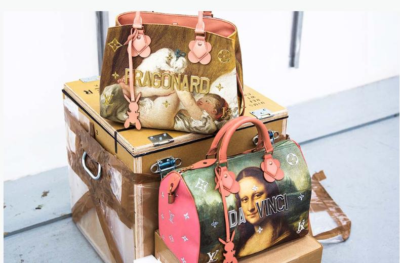 Nova coleção da Louis Vuitton em parceria com Jeff Koons
